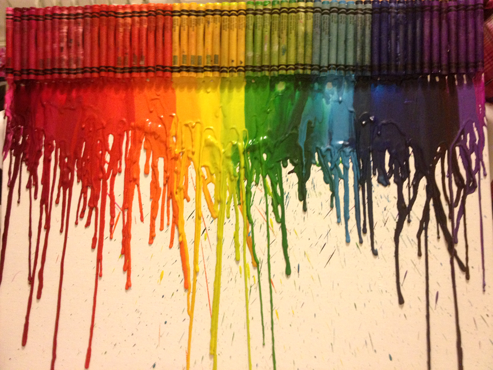 Rainbow Crayons Artwork