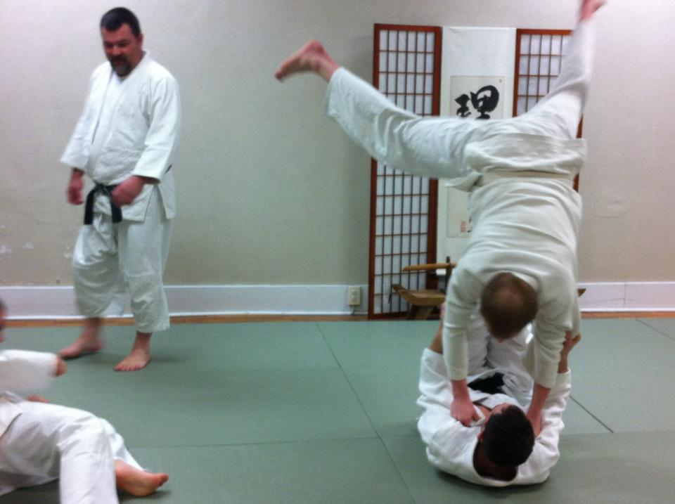 Judo Newaza Class at Bluegrass Budokai